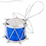 Colorful Drums Christmas Tree Ornament