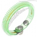 Colorful Flashing LED Bracelet - Color Assorted