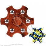 Colorful Hexagon Fidget Spinner ADHD Stress Relief Toy