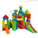 Colorful High-Density EVA Foam Building Block