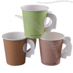 Colorful Paper Cup with Handle