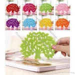 Colorful Tree Shape Coffee Coaster
