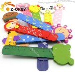 Colorful wooden Bookmark with Ruler