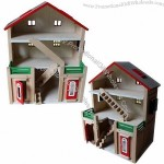 Colorful Wooden Doll House