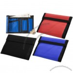 Colors Nylon Velcro Wallets