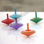 Colors Wooden Spinning Top
