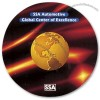 """ColorSource 3-3/4"""" Round 1/4"""" Thick Round Rubber Coaster"""