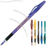Comfort Stick - Ballpoint pen with stick design and grip section.