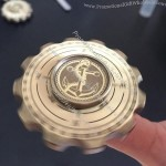Compass Fidget Hand Spinner Brass Finger Toy