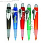 Compass pen, a great giveaway for promotions.