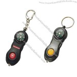 Compass with LED Light and Keyring