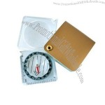 Compass with Magnifier & Metric Ruler