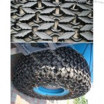 Construction Vehicles Tyre Protect Chain, Wheel Loader Tyre Protection Chain