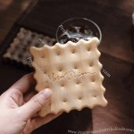Cookies Shaped Wood Coaster
