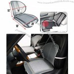 Cool Vent Mesh Car Seat Chair Lumbar Cushion Support
