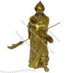 Copper bronze statue of guan gong