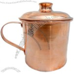 Copper Mug with Lid