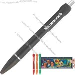 Corn series ice frosted finish banner pen.