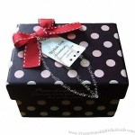 Corrugated Cardboard Gift Boxes with Dot