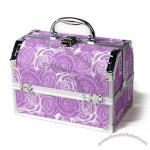 Cosmetic Case with Ring Compartment and Two Extendable Trays
