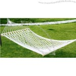 Cotton hammock.