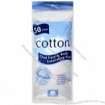 Cotton Pads In Oval Shape