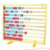 Count and see abacus, made of wood