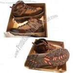 Cow Leather Rubber Sole Waterproof Cat and Timberland Shoes, Lightweight