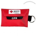 CPR Keychain With Gloves