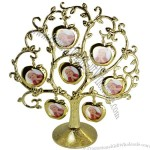 Creative Apple Tree Shaped Alloy Photo Frame