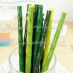 Creative Bamboo Design 0.38mm Ball Pen