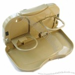 Creative Car Seat Multi Tray mount Food table meal Desk Stand Drink Cup Holder