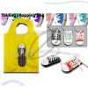Creative Design Shoe Shaped Foldable Shopping Bag