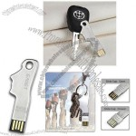 Creative Stainless Steel Key Shaped USB Flash Drive