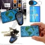 Credit Card Shaped Wireless Key Finder Key Chain with Receiver
