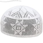Crochet Muslim Prayer Cap