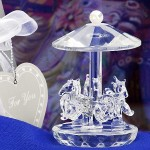 Crystal Collection carousel favors
