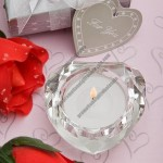 Crystal Collection heart candles