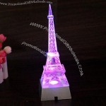 Crystal Eiffel Tower with LED Light