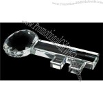 Crystal Key Paperweight