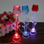 Crystal LED Flash Rose
