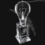 Crystal Light Bulb Tall Trophy