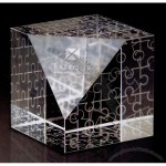 Crystal Puzzled Optical Crystal Award