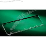 Crystal Six Inch Oblique Ruler