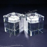Crystal Tealight Holders (Square)