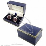 Cufflink Boxes, Made Of Special Leather And Plastic, Suitable For Cufflink Packing