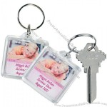 Custom Photo Breast Cancer Awareness Key Chains