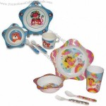 Customized 5-Piece Children's Dinner Set