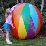 "Customized 72"" 24 Panel Beach Ball"