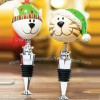 Customized Cartoon Shape Wine Bottle Stopper